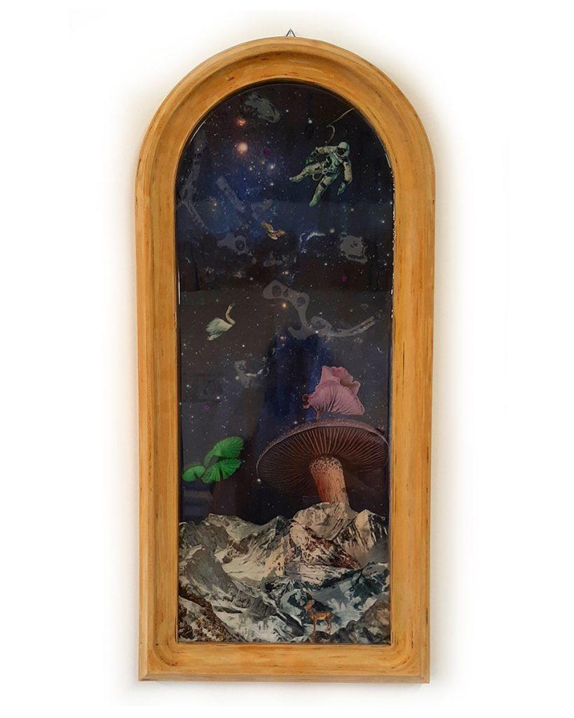 collage epoxy jessica becks art
